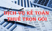 Nhận làm dịch vụ kế toán trọn gói giá rẻ